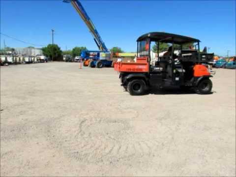 For Sale 2009 Kubota RTV1140 CPX 4x4 Diesel Utility Cart ATV Dump bidadoo.com