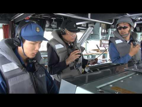 【訓練・演習】 平成27年度実機雷処分訓練 ~海上自衛隊~