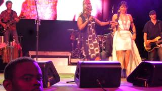 Lila Downs & Angelique Kidjo - Tombo HD @ Summerstage, Central Park NYC
