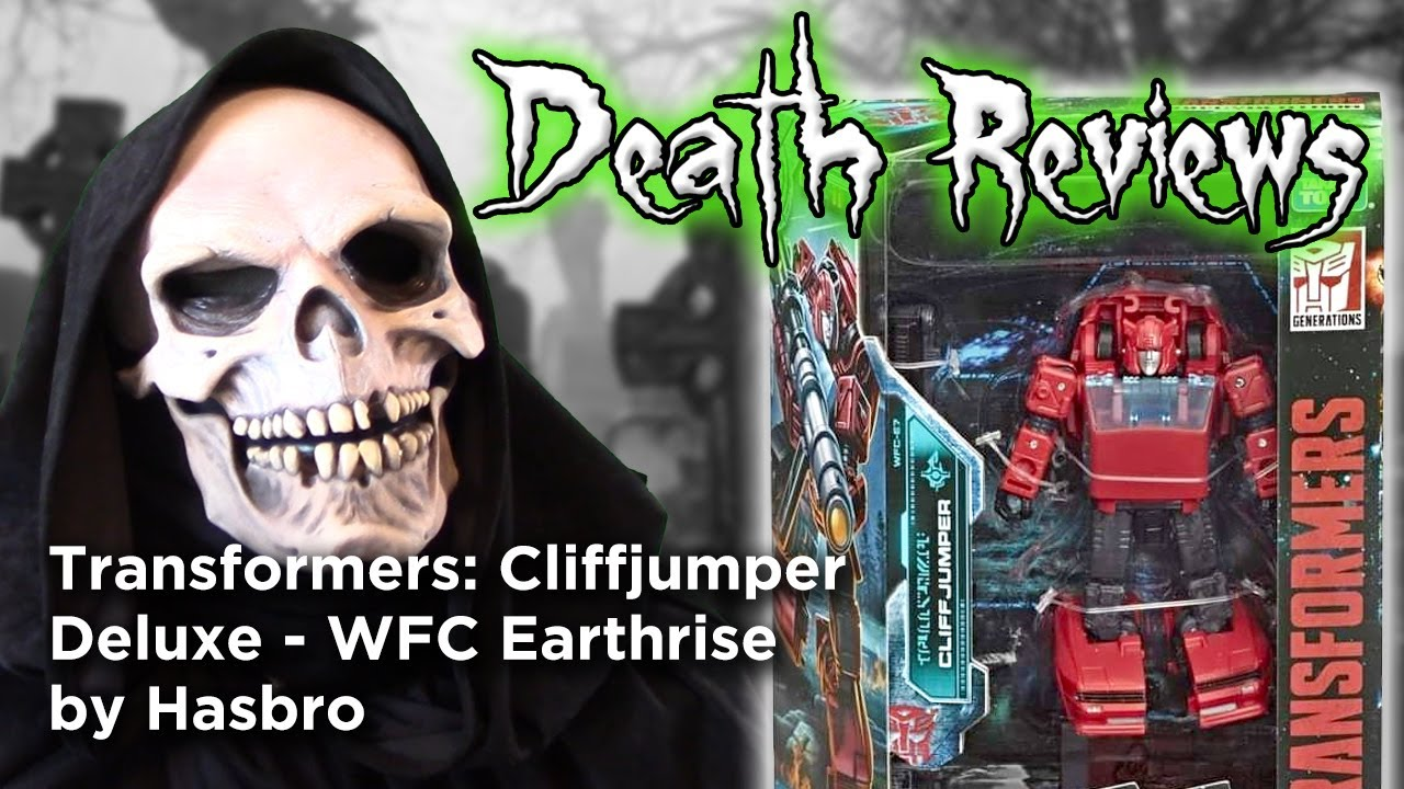 Death Reviews: Cliffjumper - Deluxe - WFC Earthrise