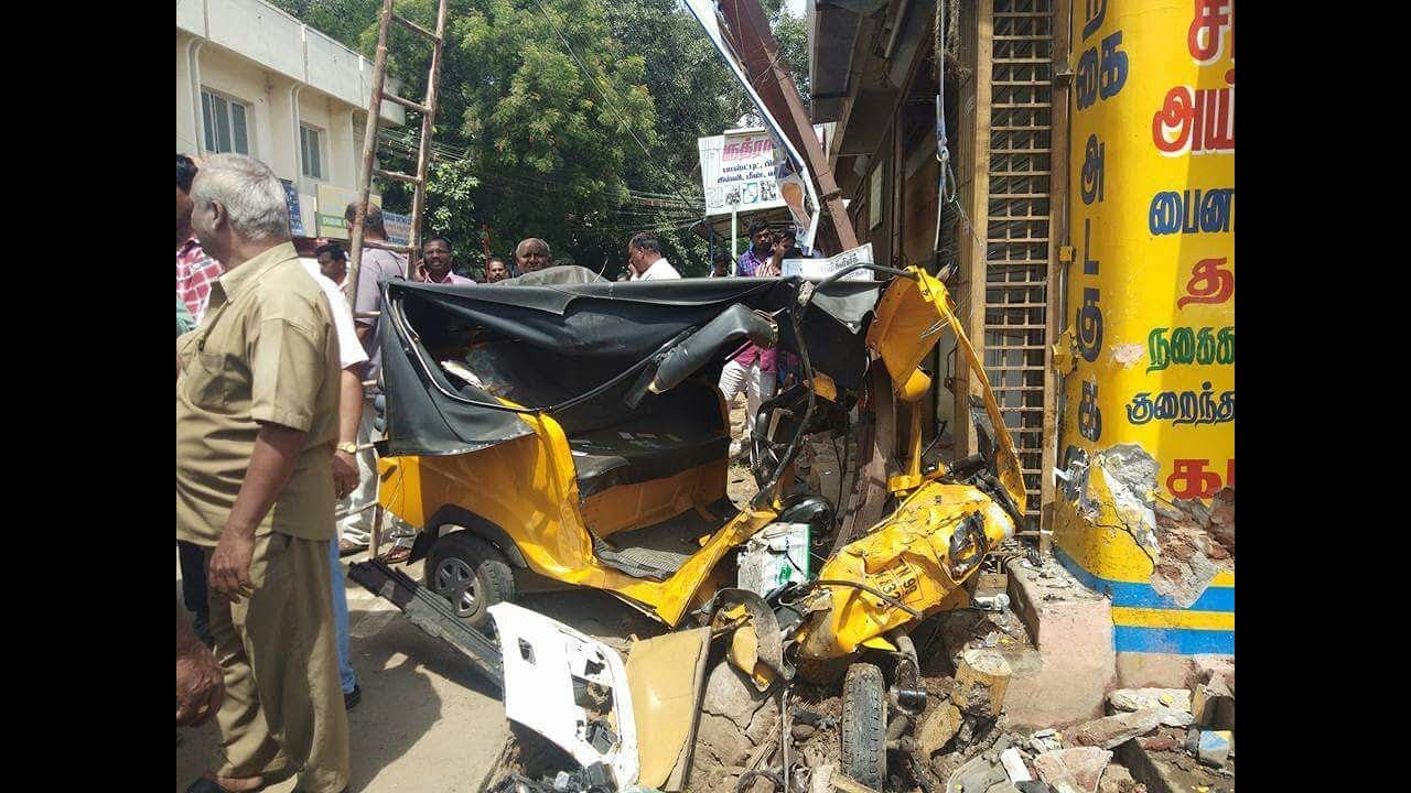Major Accident In Coimbatore Youtube