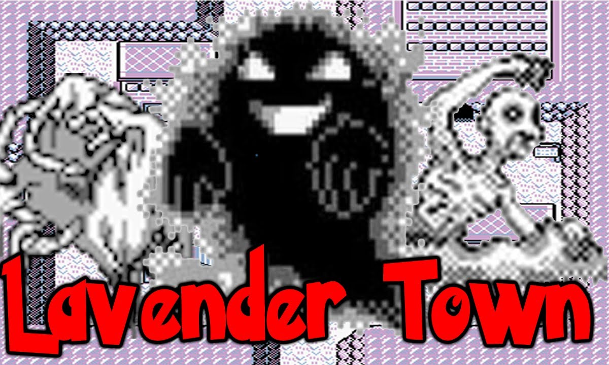 Lavender Town Myths Pokemon Fact Of The Day Youtube