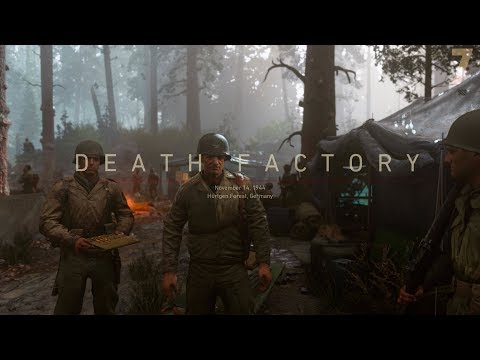 """Call of Duty: WWII Campaign Mission [7] """"Death Factory"""" (November 14, 1944)"""