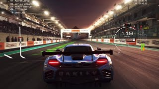 GRID AUTOSPORT GAMEPLAY ON IPAD w/PS4 CONTROLLER