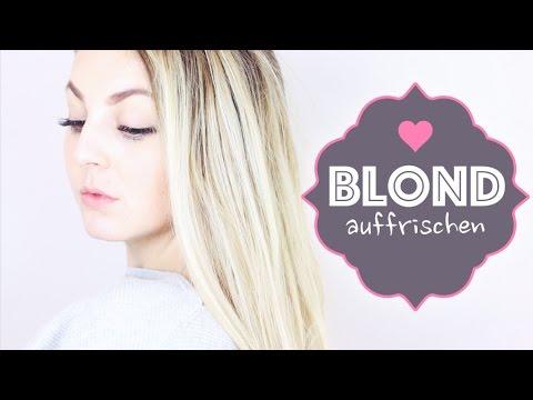 Blond Auffrischen Lóreal Dialight Milkshake Youtube