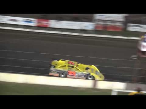 UMP Summer Nationals Late Model Hell Tour feature Farley Speedway 6/17/15