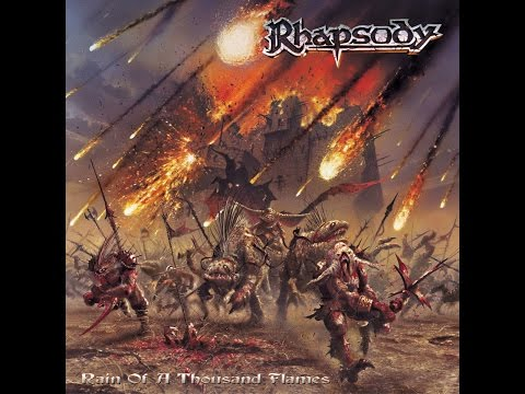 Клип Rhapsody - Rain of a Thousand Flames