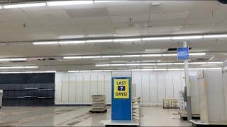 Big Kmart Closing update 2--Leechburg, PA — (last seven days) 11/25/2019 #kmartclosing2019