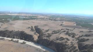 Helicopter ride over Paso Robles