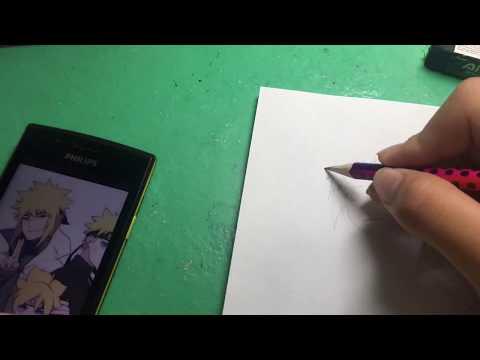 Vẽ boruto-naruto-minato [ phần 3 ]