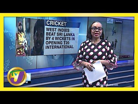 West Indies Takes Lead in T20 Series Against Sri Lanka   TVJ Sports News