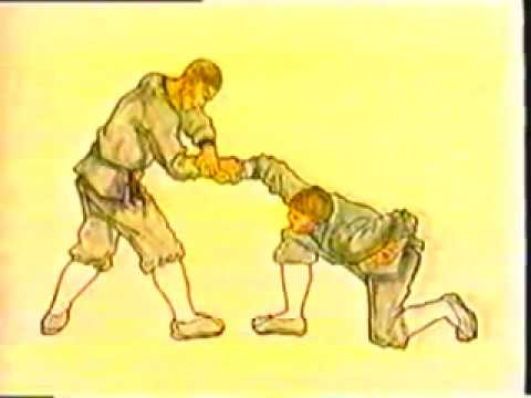Kung Fu. Arm lock. Self-defense with Chin Na 1 擒拿武术用法