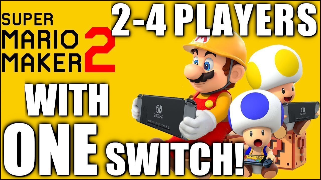 HOW TO DO Multiplayer with ONE Switch | Mario Maker 2 | The Basement