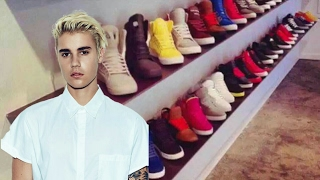 Justin Bieber shoes collection 2017