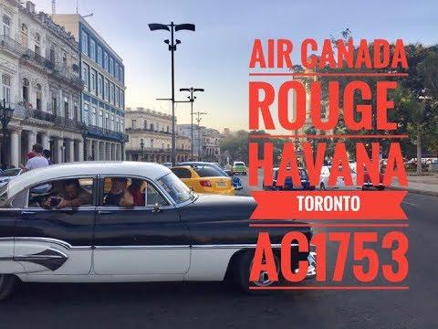 AIR CANADA ROUGE A319 AC1753 HAVANA - TORONTO