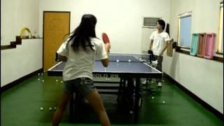SIMA桌球教室-正手弧圈