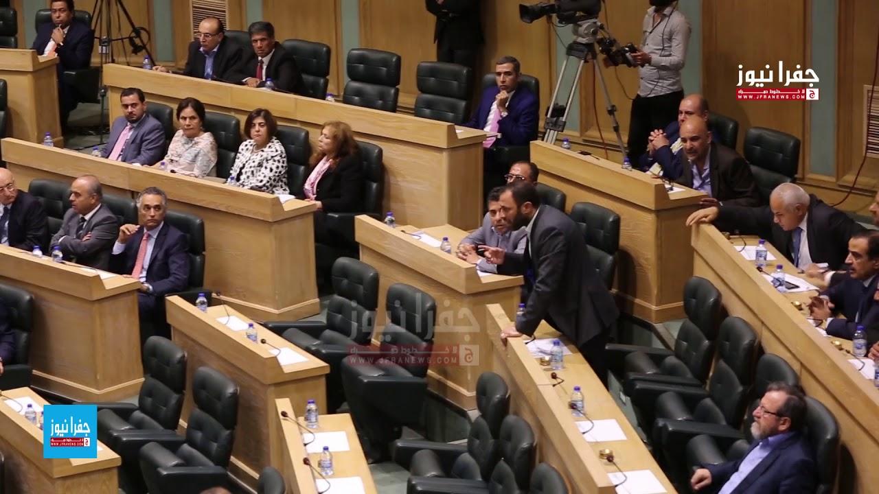 مشادة كلامية بين النواب بسبب كلمة النائب غازي الهواملة