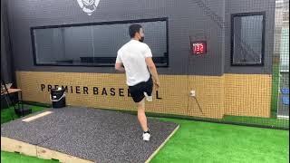 PSG 베이스볼  - 휘문고 1학년 타자의 투수 실력