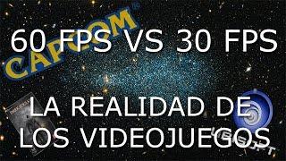 60 FPS vs 30 FPS | La realidad en los videojuegos actuales