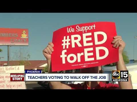 Valley school districts preparing contingency plans ahead of teacher strike vote