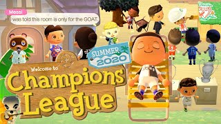 Messi, Ronaldo and Champions League Footballers Meet Animal Crossing 🌴