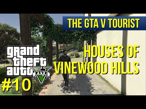 The GTA V Tourist: Houses of Vinewood Hills - Part 10 (Picture Perfect Drive - west to east)