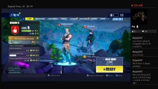 Fortnight online multiplayer playing with caleb LIVE