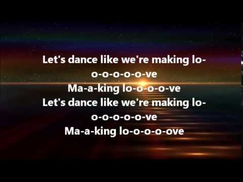 Ciara - Dance Like We're Making Love (Lyrics)