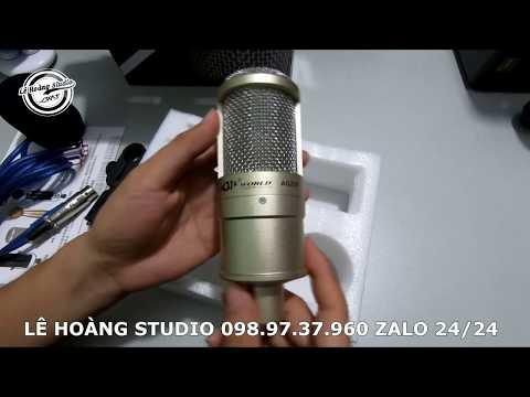 LHS | ✅ MICRO PC K200 Nguồn 5V Không Cần Phantom Mới Nhất Tại Lê Hoàng Studio 098.97.37.960 Zalo