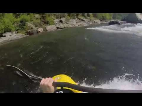 Doe River Gorge Creeking and some Nolichucky Playboating