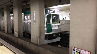 京都市営地下鉄烏丸線 10系更新車 竹田行き 烏丸御池発車