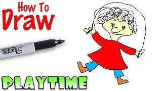 How to Draw Playtime | Baldi