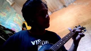 Beautiful in white (Ukulele Fingerstyle Cover, short clip) by Joson Ramil