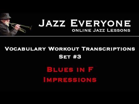 Vocab Workout Transcriptions #3