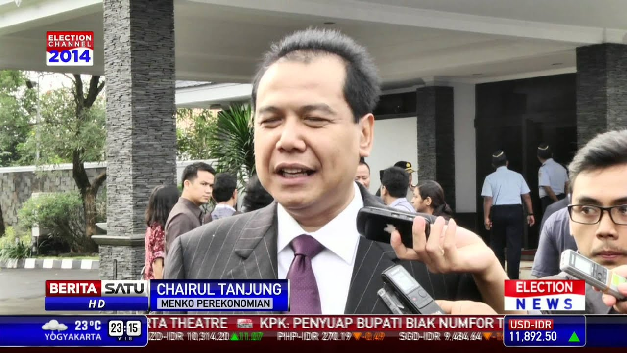 Chairul Tanjung White Rocking Chairs Buntut Pernyataan Prabowo Soal Kebocoran Anggaran Youtube