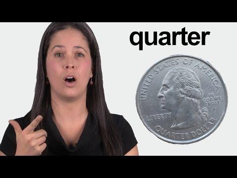 How to Pronounce QUARTER - Conversational American English Pronunciation
