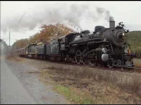 Reading&Northern Fall Train Excursion trainchases Oct 9 2016