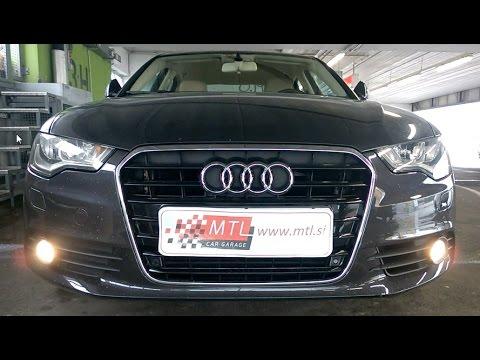 Audi A6 MY2011 ing Home via fog lights uporaba meglenk v