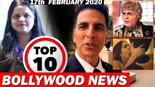 Top 10 Bollywood News | 17th Feb 2020 | Mr. India 2, Sooryavanshi Trailer, Filmfare 2020