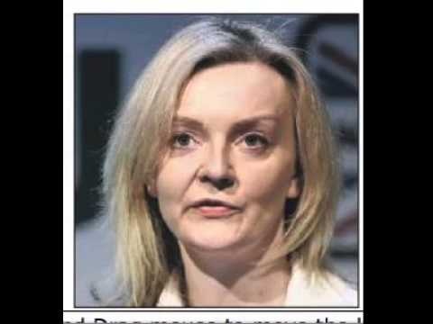 Picture of Elizabeth Truss from the YORKSHIRE POST 21 Jan 2016