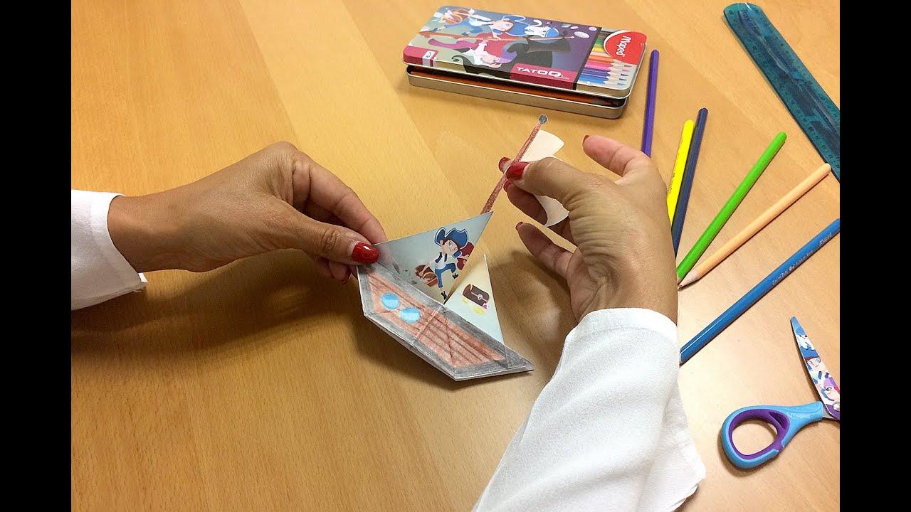 Diy Bateau Pirates Origami Tuto Activite Creative Enfant Youtube