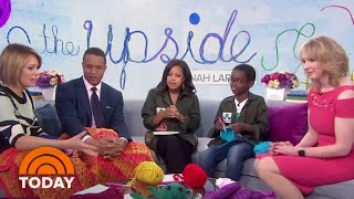 Jonah Larson, The 11-Year-Old Crochet Prodigy Is Using His Skills To Give Back | TODAY