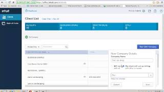 How to Create a New QuickBooks Company File from QuickBooks Online Accountant