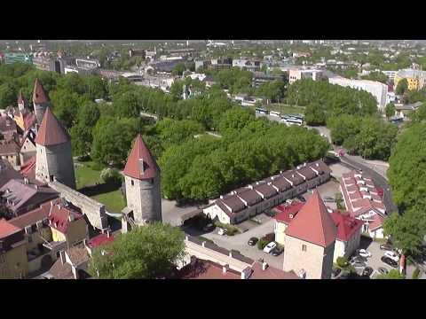 St. Olav's Church tower. Tallinn.