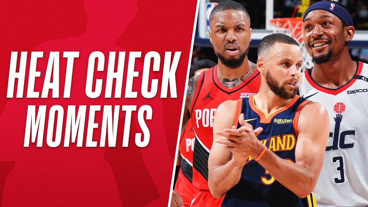 """""""He's Heating Up!"""" 🔥 The Best Heat Check Moments From 2020-21"""