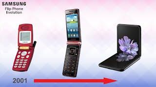 Samsung Flip Phone Evolution
