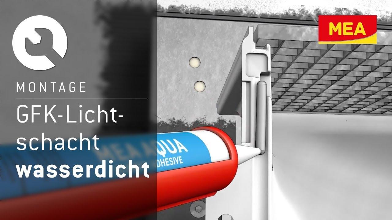 Gut gemocht GFK-Lichtschacht MEAMULTINORM - druckwasserdicht wärmebruckenfrei WP97