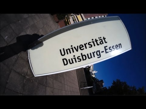Universiät Duisburg-Essen (Campus Essen) Rundgang (2013)
