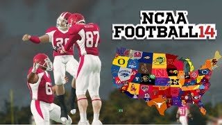 BEST HIGH SCHOOL FOOTBALL PLAYER IN THE NATION!! NCAA 14 ROAD TO GLORY EP. 1