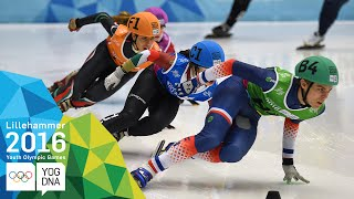 Short Track Relay - Mixed NOC Team | Lillehammer 2016 Youth Olympic Games